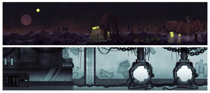 Mislocated | backgrounds by Nykkt
