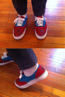 Spider-Man Shoes! by lonedragon155
