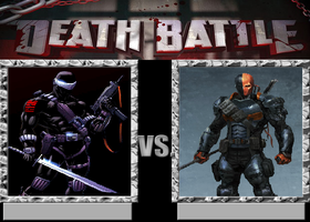 Snake Eyes vs Deathstroke by VitamineJJC