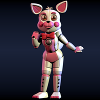 TLT Style funtime foxy model by CoolioArt
