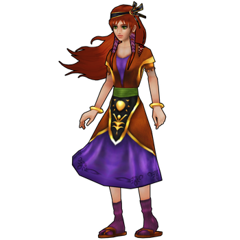Chrono Cross HD: Leena, sweet country girl. by 2PlayerWins
