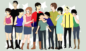 transformers movie the atoubots humanmood with ocs by art-is-my-bream