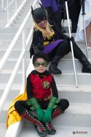 Damian And Steph By Mark Shafer by ComicChic19