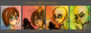 Age Meme: Snively by lupienne