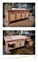 Custom bathroom vanity 01 by SirInkman