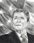 Ronald Reagan by UnexpectedFantasy