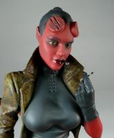 Hellgirl 3, Garage Kit by Harkon72