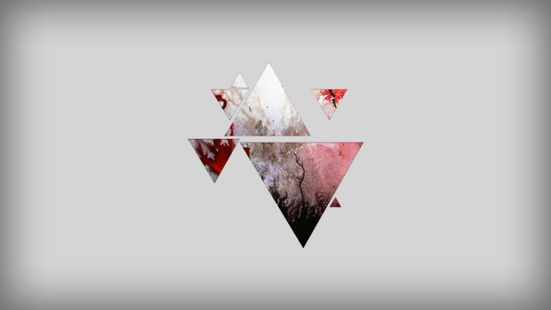 Triangle Background 1 by vekst