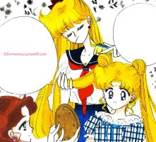 A tender moment~ a manga coloring by Mileyangel321