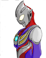 Ultraman Tiga by Jason-FH-Art