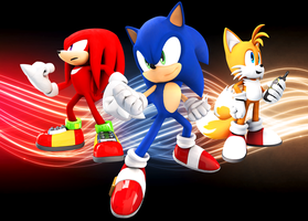 Team Sonic by FinnAkira
