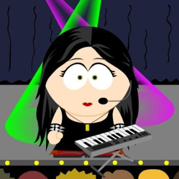 Amy Lee in South Park by Rocky64