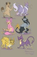 POKECATSSS by 1skylight1