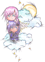 Puffy Clouds: CaiusXLightning by FFXIIICaius