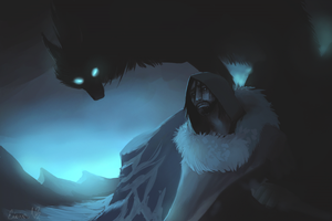 Beware the Varg by TheSnowDragon