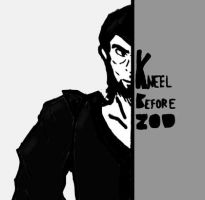 Kneel before Zod by starfish34