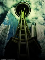 Seattle - The Rain City by pedrosampaio