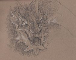 Smaug by xThoughtless