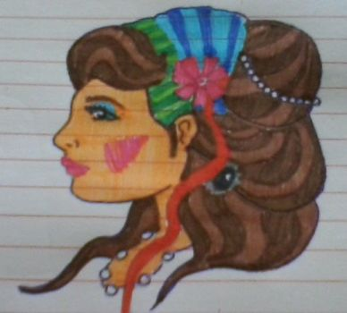 Gypsy girl by RetsMonster