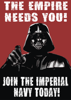 Vader Needs You by HawkTheSlayer