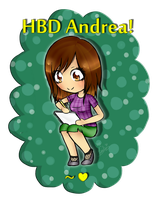 HBD Andrea!! by 27Leslie