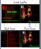 Mental Illness Album Only Half The Truth CD Case by Insanity-C