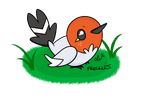 Freckles the Fletchling by CuteLittleVixen