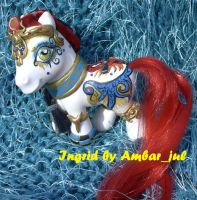 My little pony egyptian Ingrid by AmbarJulieta