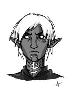 Fenris Sketch by FendersFAN