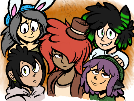 CM - Group Picture by Toon-O-Clock
