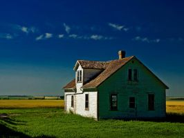 The Prairie Beyond by WayneBenedet