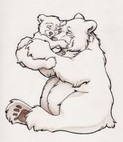 bear hug by travelingpantscg