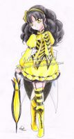 Lady bee by Yuki-Lumino