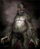 Fat Innsmouth Folk (H.P.Lovecraft) by DaveGrasso