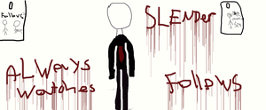 Slenderman by Fericidocious