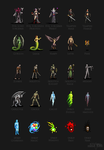 RedCastle Interactive - Character Sprites 1 by Serathus