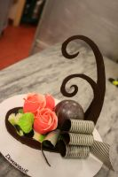 chocolate sculpture by DominiqueO