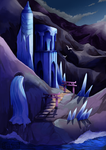 Ice temple by Fillyflight