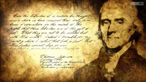 Separation Of Church And State: Thomas Jefferson by SympleArts