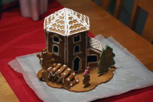 Gingerbread house by Truesome