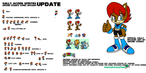 Sally Acorn Advance Revamp Sprites V2 by Tales499