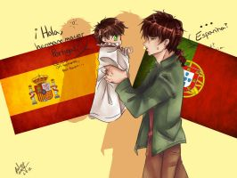 Espana and Portugal by BlackDiamond13