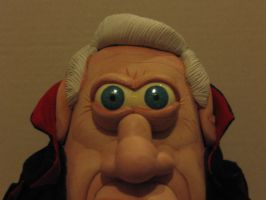 Dracula Dead and Loving It Potatohead closeup by Potatoheadmaster