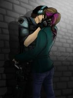 The Kiss Thief by FlirtingWithInsanity