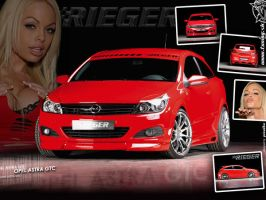 Opel Astra GTC Rieger by TuningmagNet