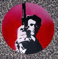 Dirty Harry Stencil by punkdaddy74