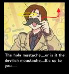 Moustache Motivational Poster by xxDe-Chanxx