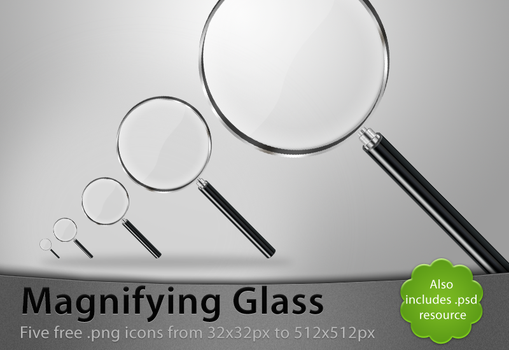 Magnifying Glass by Lukasiniho