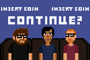 Continue? Pixel Art by crookedcartridge