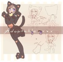 Neko Kigurumi adoptable -AUCTION CLOSED- by Next--LVL